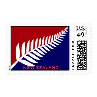 Bandera de Nueva Zelanda, Estampillas
