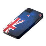 Bandera de Nueva Zelanda Case-Mate iPhone 4 Cárcasas