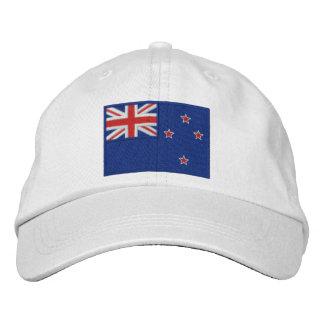 Bandera de Nueva Zelanda Gorras De Beisbol Bordadas