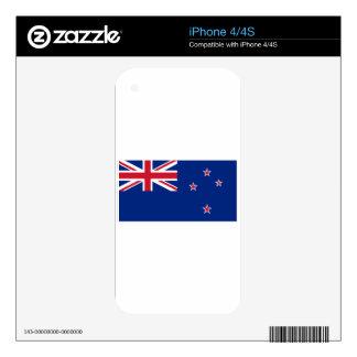 Bandera de Nueva Zelanda iPhone 4S Calcomanía