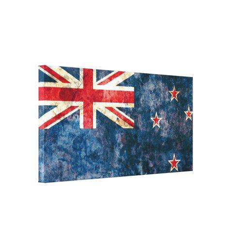 Bandera de Nueva Zelanda Lona Estirada Galerías