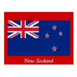 Bandera de Nueva Zelanda Postal