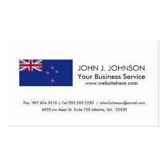 Bandera de Nueva Zelanda Tarjetas De Visita