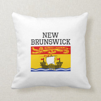 Bandera de Nuevo Brunswick Cojin