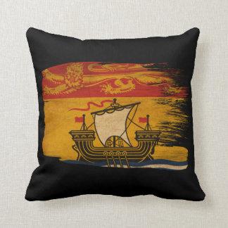 Bandera de Nuevo Brunswick Almohadas