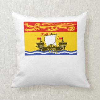 Bandera de Nuevo Brunswick Almohada