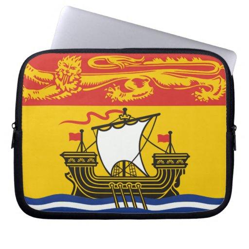 Bandera de Nuevo Brunswick Funda Ordendadores