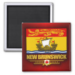 Bandera de Nuevo Brunswick Imán De Nevera