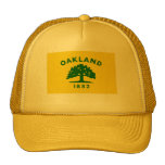 Bandera de Oakland, California Gorro