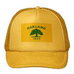 Bandera de Oakland, California Gorros Bordados