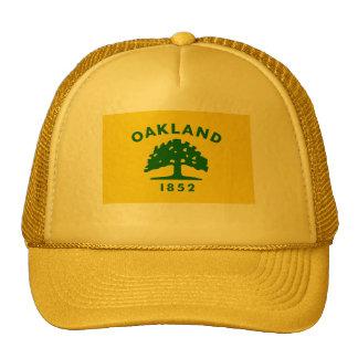 Bandera de Oakland California Gorros Bordados