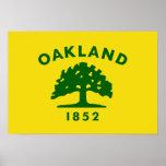 Bandera de Oakland, California Posters