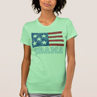 Bandera de OBAMA Camiseta