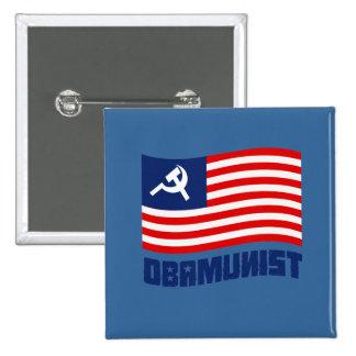 Bandera de Obamunist Pin