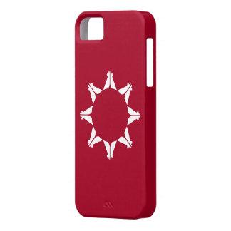 Bandera de Oglala Lakota iPhone 5 Case-Mate Carcasa