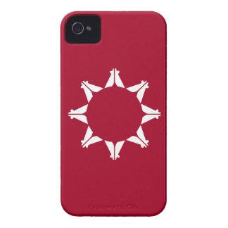 Bandera de Oglala Lakota iPhone 4 Fundas