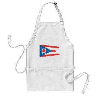 Bandera de Ohio Delantales