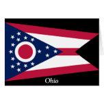 Bandera de Ohio Felicitación