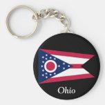 Bandera de Ohio Llaveros