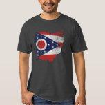 Bandera de Ohio llevada Polera
