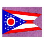 Bandera de Ohio Postales