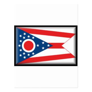 Bandera de Ohio Tarjetas Postales