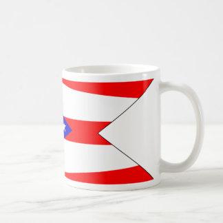 Bandera de Ohio Tazas De Café