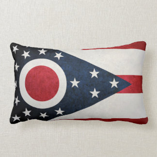Bandera de Ohioan Cojin
