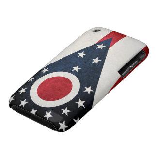 Bandera de Ohioan iPhone 3 Case-Mate Protector