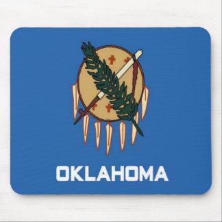 Bandera de Oklahoma Alfombrillas De Raton