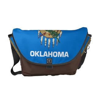 Bandera de Oklahoma Bolsa De Mensajeria
