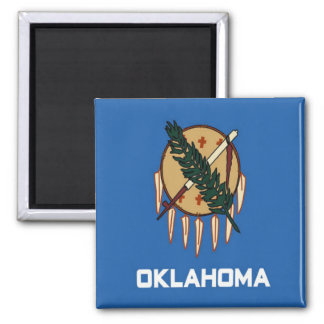 Bandera de Oklahoma Iman