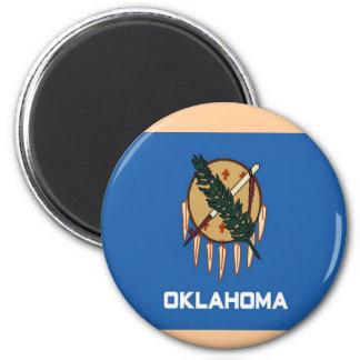 Bandera de Oklahoma Iman Para Frigorífico