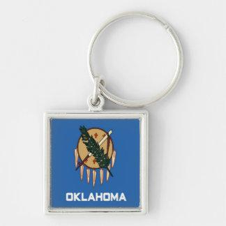 Bandera de Oklahoma Llavero