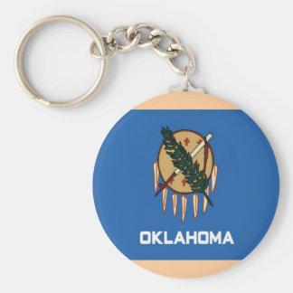 Bandera de Oklahoma Llaveros Personalizados