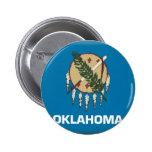 Bandera de Oklahoma Pin