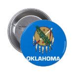 Bandera de Oklahoma Pins