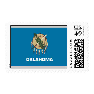 Bandera de Oklahoma Sello