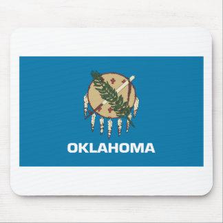 Bandera de Oklahoma Tapetes De Ratones