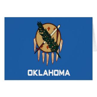 Bandera de Oklahoma Tarjetas