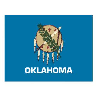Bandera de Oklahoma Tarjetas Postales