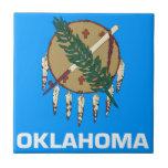 Bandera de Oklahoma Teja