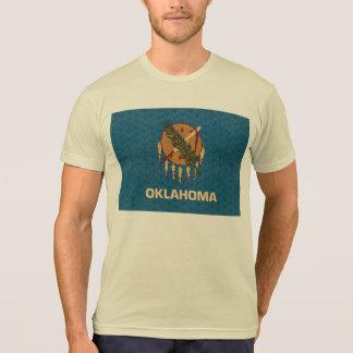 Bandera de Oklahoman del modelo del vintage Camisas