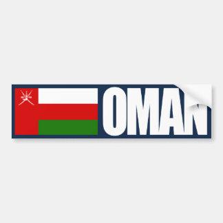 Bandera de Omán Etiqueta De Parachoque