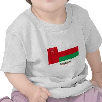 Bandera de Omán con nombre Camisetas