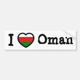 Bandera de Omán Pegatina Para Auto