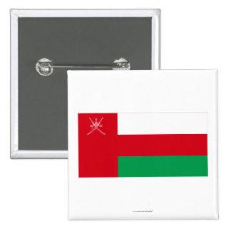 Bandera de Omán Pin