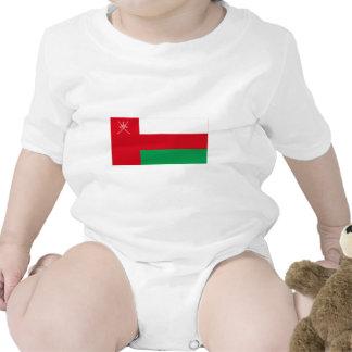 Bandera de Omán Traje De Bebé