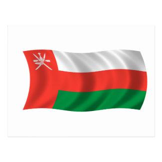 Bandera de Omán Postales