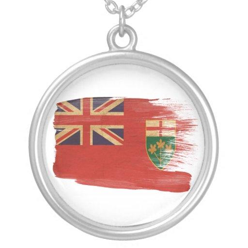 Bandera de Ontario Collar